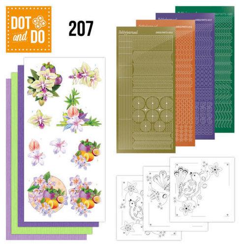 Dot en Do DODO207 - Dot and Do 207 - Jeanine's Art - Exotic Flowers