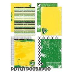 Dutch Doobadoo Dutch design papier - A4 - Voetbal 473.005.012