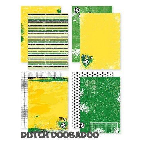 Dutch Doobadoo Dutch Doobadoo Dutch design papier - A4 - Voetbal 473.005.012