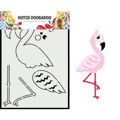 Dutch Doobadoo Dutch Card Art built up Flamingo A5 470.713.880