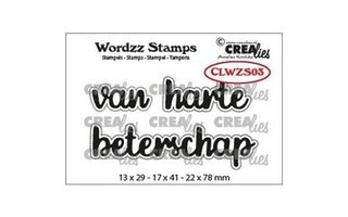 clearstamps Tekst NL