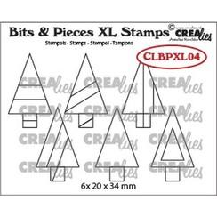 Crealies Clearstamp Bits&Pieces XL no. 04 Bomen CLBPXL04 20x34mm