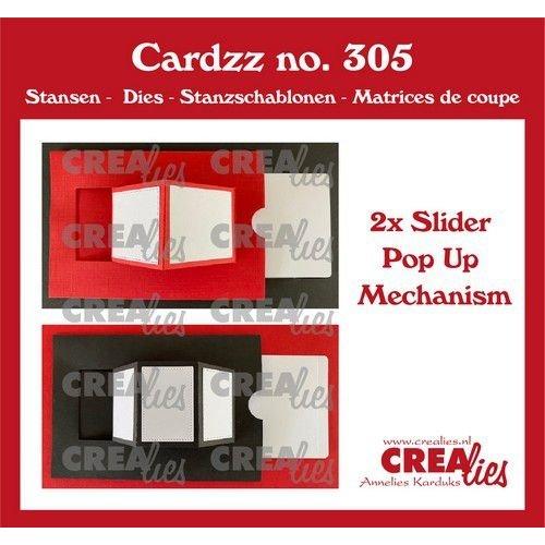 Crealies Crealies Cardzz Pop up CLCZ305
