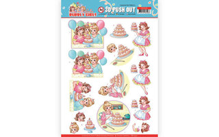 Yvonne Creations Bubbly Girls Party Collectie