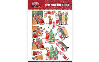 Yvonne Creations Family Christmas Collectie