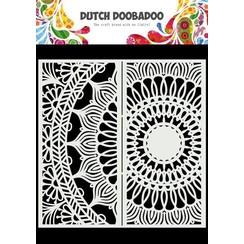 Dutch Doobadoo Dutch Mask Art Slimline Mandala 470.784.006 210x210mm