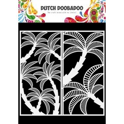 Dutch Doobadoo Dutch Mask Art Slimline Palmboom 470.784.007 210x210mm