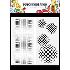Dutch Doobadoo Dutch Mask Art Slimline Circles 470.784.009 210x210mm