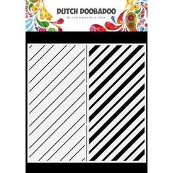 Dutch Doobadoo Dutch Mask Art Slimline Stripes 470.784.010 210x210mm