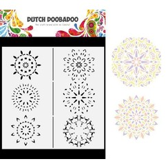 Dutch Doobadoo Dutch Mask Art Slimline Mandalas 470.784.011 210x210mm