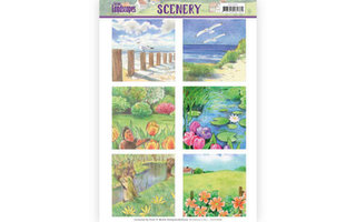 Jeanines Art Spring Landscapes Collectie