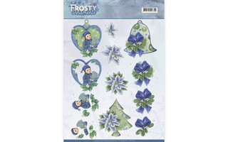 Jeanines Art Frosty Ornaments Collectie