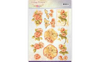 Jeanines Art Vintage Flowers Collectie