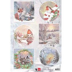 EWK1286 - Winter wishes - Vos