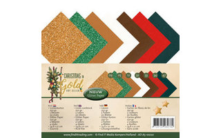 Amy Design Christmas in Gold Collectie