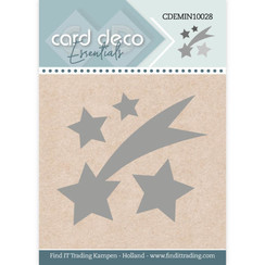 CDEMIN10028 - Card Deco Essentials - Mini Dies - Falling Star