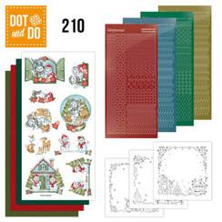 DODO210 - Dot and Do 210 - Yvonne Creations - Christmas Home