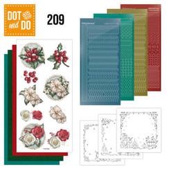 DODO209 - Dot and Do 209- Amy Design -Winterflowers