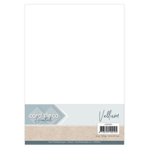 CDEVE001 - Card Deco Essentials - Vellum A4