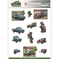 SB10575 - Uitdrukvel - Amy Design - Vintage Transport - Truck