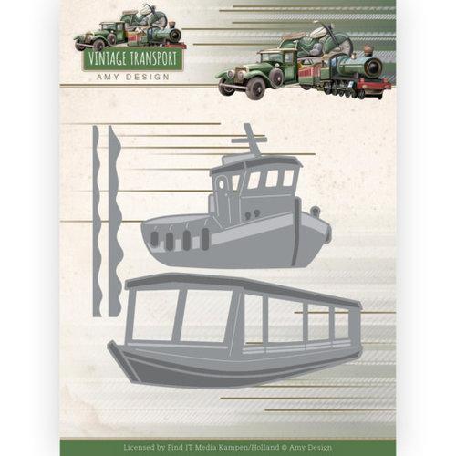 ADD10251 - Mal  -Amy Design - Vintage Transport - Boats