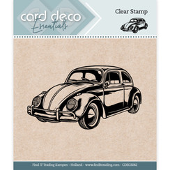 CDECS062 - Card Deco Essentials - Clear Stamps - Car