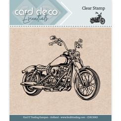 CDECS063 - Card Deco Essentials - Clear Stamps - Motor