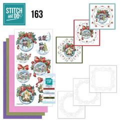 STDO163 - Stitch and Do 163 - Yvonne Creations - Wintry Christmas