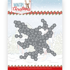 YCD10243 - Mal - Yvonne Creations - Wintery Christmas - Cut out Stars