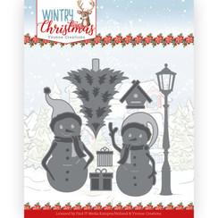 YCD10244 - Mal - Yvonne Creations - Wintery Christmas - Snow Friends