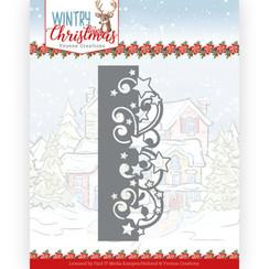 YCD10246 - Mal - Yvonne Creations - Wintery Christmas - Stars Border