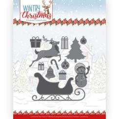 YCD10248 - Mal - Yvonne Creations - Wintery Christmas - Ho, ho, ho snowman