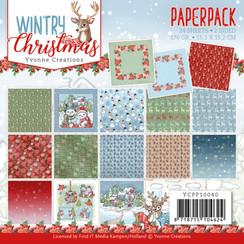 YCPP10040 - Papierpak - Yvonne Creations - Wintery Christmas