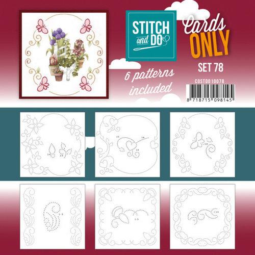 COSTDO10078 - Stitch and Do - Cards Only Stitch 4K - 78