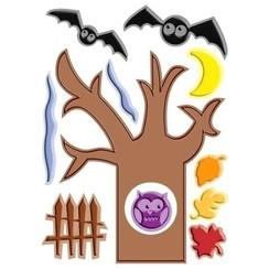 Halloween Spooky Tree Cuttlebug Disney Die & Embossing Folder
