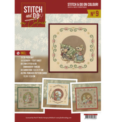 STDOOC10009 - Stitch and Do on Colour 009 - Yvonne Creations - Have a Mice Christmas