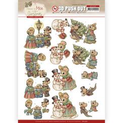 SB10582 - Uitdrukvel - Yvonne Creations  - Have a Mice Christmas - Christmas Carol