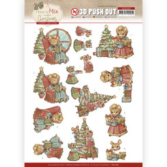 SB10583 - Uitdrukvel - Yvonne Creations  - Have a Mice Christmas - Decorating