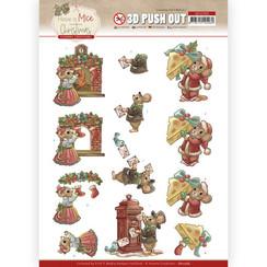 SB10584 - Uitdrukvel - Yvonne Creations  - Have a Mice Christmas - Sending Christmas Cards