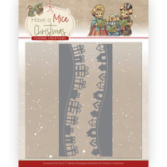YCD10250 - Mal - Yvonne Creations - Have a Mice Christmas - Christmas Gift Borders