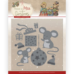 YCD10252 - Mal - Yvonne Creations - Have a Mice Christmas - Christmas Mouse Gift