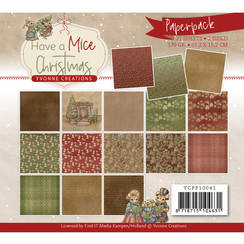 YCPP10041 - Papierpak - Yvonne Creations - Have a Mice Christmas