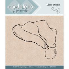 CDECS066 - Card Deco Essentials - Clear Stamps - Santa Hat