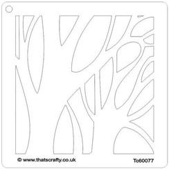 Thats Crafty! Mask stencil - Winter boom 107119 15x15cm
