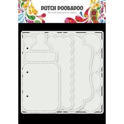 Dutch Doobadoo Card Art Baby album 5 set 470.784.021 150x150mm