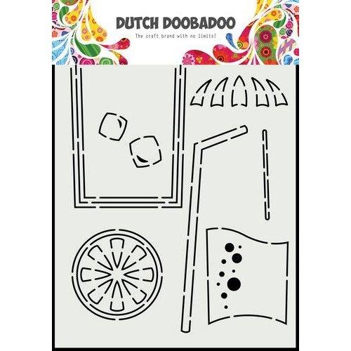 Dutch Doobadoo Card Art Cocktail glas A5 470.784.025