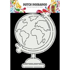 Dutch Doobadoo Card Art Wereldbol A5 470.784.026