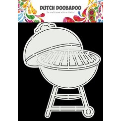 Dutch Doobadoo Card Art Barbecue A5 470.784.028