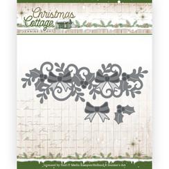 JAD10138 - Mal - Jeanines Art - Christmas Cottage - Christmas Swirl Border