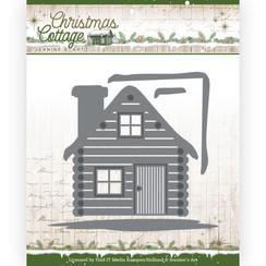 JAD10139 - Mal - Jeanines Art - Christmas Cottage - Cottage